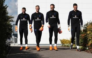 England's number one goalkeeper for the World Cup has been decided
