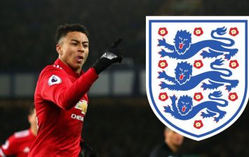 In-form Jesse Lingard's latest goal has England fans saying the same thing