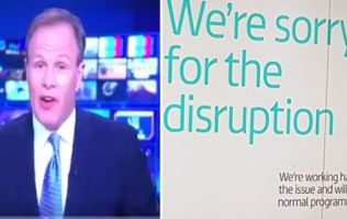The ITV News had to be evacuated on live TV and plenty of people noticed