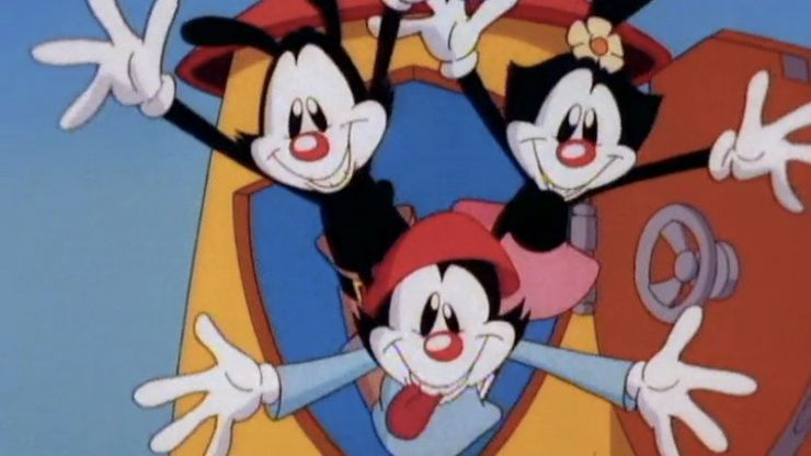 The Animaniacs are officially coming back