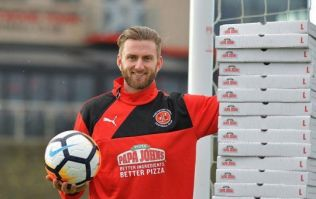 Fleetwood goalkeeper awarded year's supply of pizza for keeping a clean sheet vs Leicester