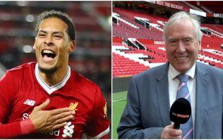 Liverpool fans complain about Martin Tyler's commentary for Virgil van Dijk's goal