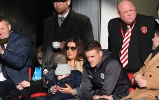 Jamie Vardy showed his class from the stands at former club Fleetwood Town