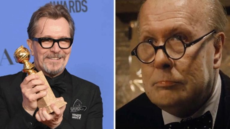 Gary Oldman is now the Oscar favourite for his superb performance as Winston Churchill