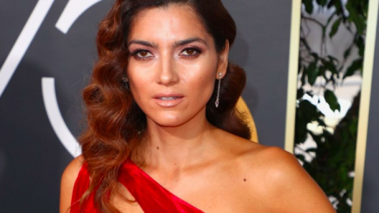 The actress who wore red to the Golden Globes explains why