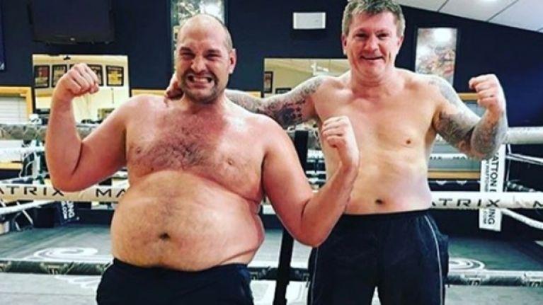 Nutritionist explains how Tyson Fury has shed four stone as he targets comeback