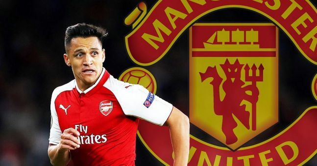 Some Man United fans will be excited by Alexis Sanchez's agent's Twitter account