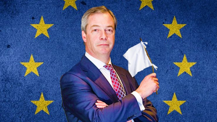5 Possible Reasons for Nigel Farage's Unfathomable Brexit U-turn