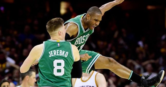 "Al Horford: ""Shaq elbowed me in the face in my first game as a rookie."""