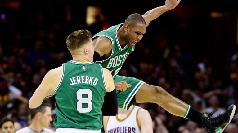 """Al Horford: """"Shaq elbowed me in the face in my first game as a rookie."""""""