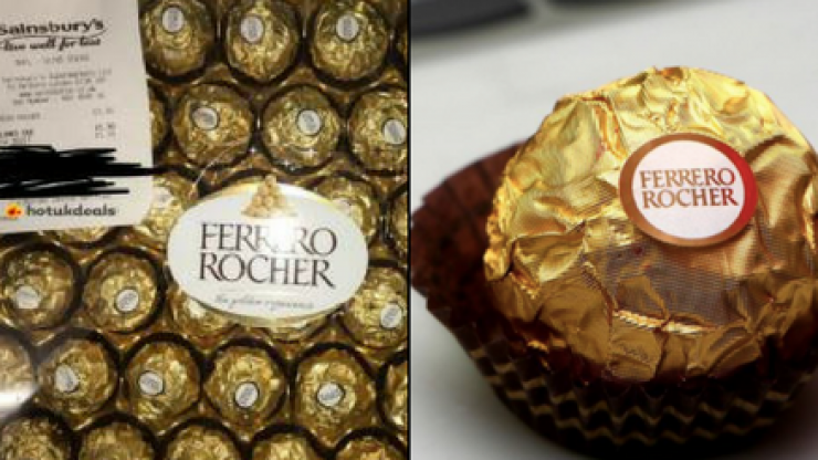 Sainsbury's is selling huge boxes of Ferrero Rocher for £1.30