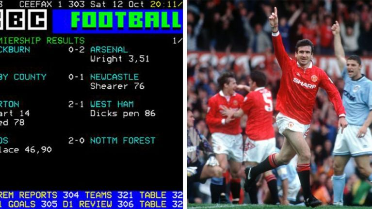 The simple joy of following football on Teletext will never be replicated