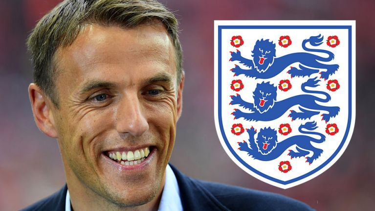Phil Neville linked with taking charge of England Women's team