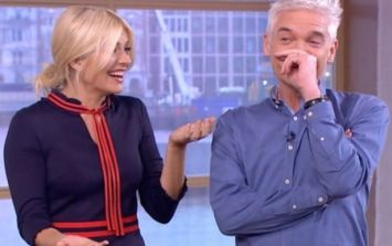 Holly Willoughby makes three huge mistakes live on This Morning