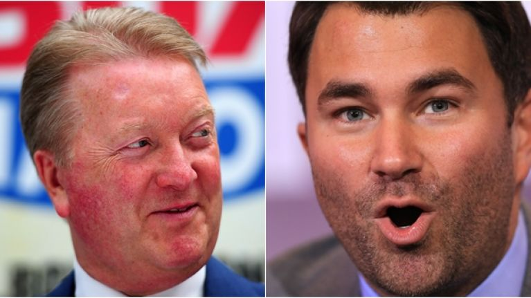 Frank Warren has absolutely ripped into Eddie Hearn