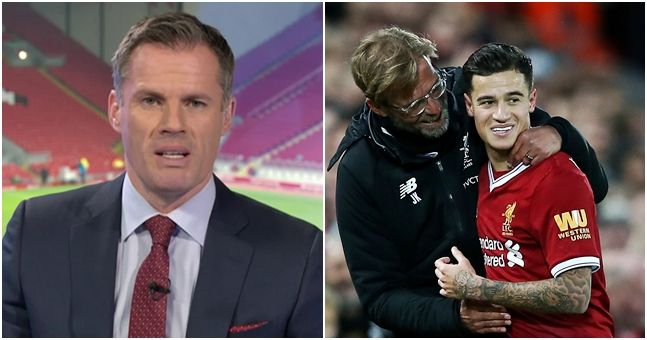 Jamie Carragher's point about the Coutinho transfer is very difficult to argue with