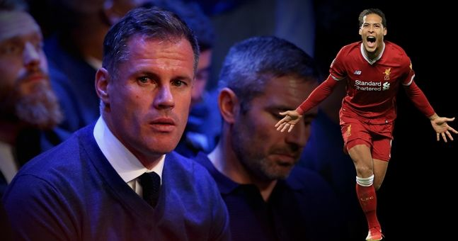Jamie Carragher takes the piss out of Jamie Carragher for interview with Virgil van Dijk
