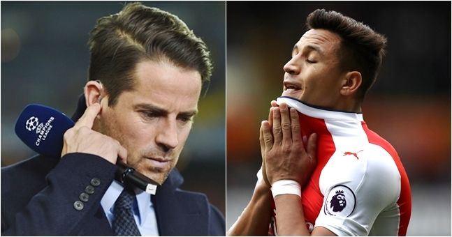 Jamie Redknapp shares bizarre reason why Arsenal must NOT sell Sanchez to Man United