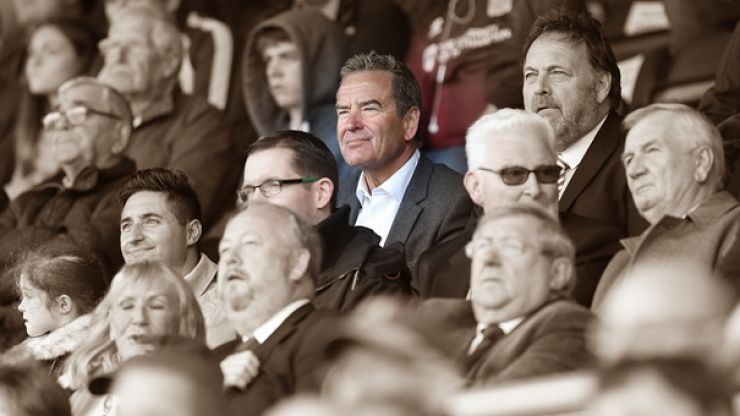 Jeff Stelling will not let his beloved Hartlepool suffer administration
