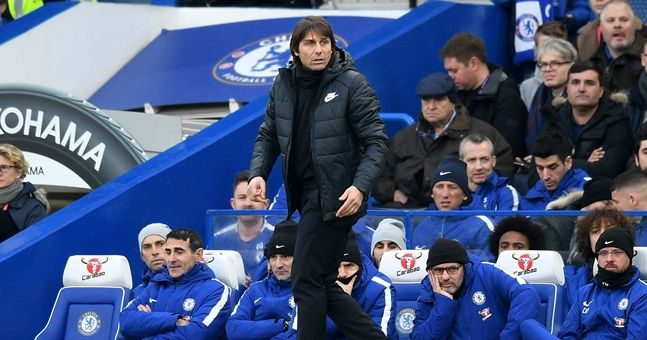 There was a combination of confusion and fury after Antonio Conte decision