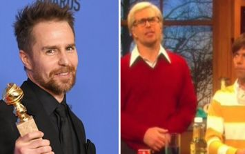 Sam Rockwell drops an F-bomb live on SNL, continues to be everyone's favourite actor