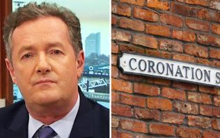 Poor Piers Morgan is 'upset' because he was 'attacked' on Corrie