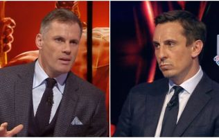Jamie Carragher and Gary Neville got into a heated debate about Alexis Sanchez