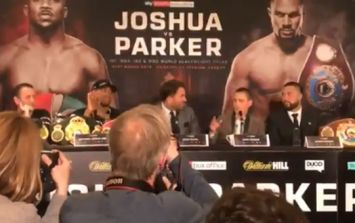 Eddie Hearn really laid into Joseph Parker's promoter at press conference