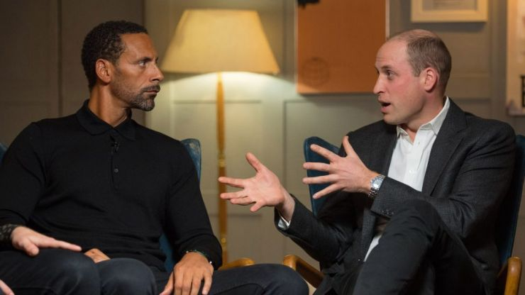 Prince William and Rio Ferdinand speak about mental health in this powerful video