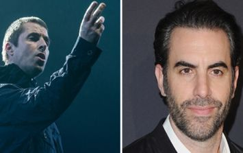 Liam Gallagher's latest comments on his bizarre feud with Sacha Baron Cohen are fantastic