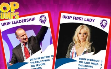 UKIP Top Trumps: Party or partner - who should Henry Bolton dump?