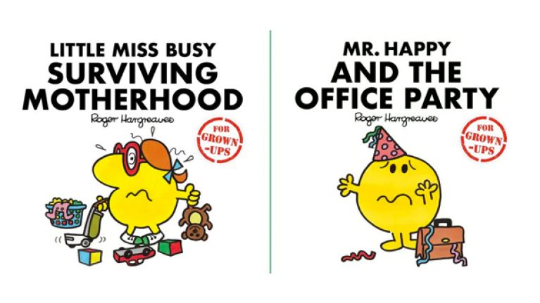 Mr Men are 'all grown up' with brilliant new adult book collection