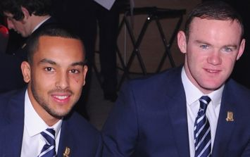 Wayne Rooney played a huge role in getting Theo Walcott to Everton