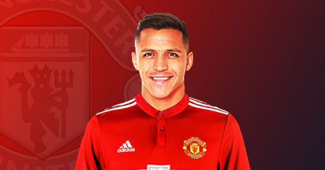 info for d01e6 11911 Alexis Sanchez Kitted In Manchester United Jersey ...