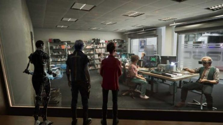 WATCH: We get our first look behind Spielberg's new mega-blockbuster Ready Player One