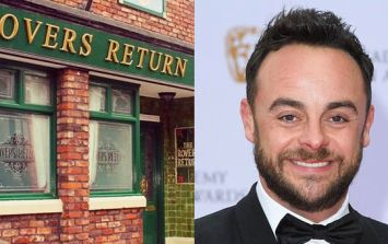 Coronation Street star admits Ant McPartlin played a part in latest storyline