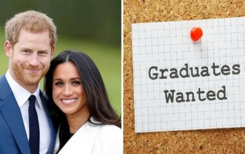 Prince Harry and Meghan Markle are looking for a recent graduate to work for them