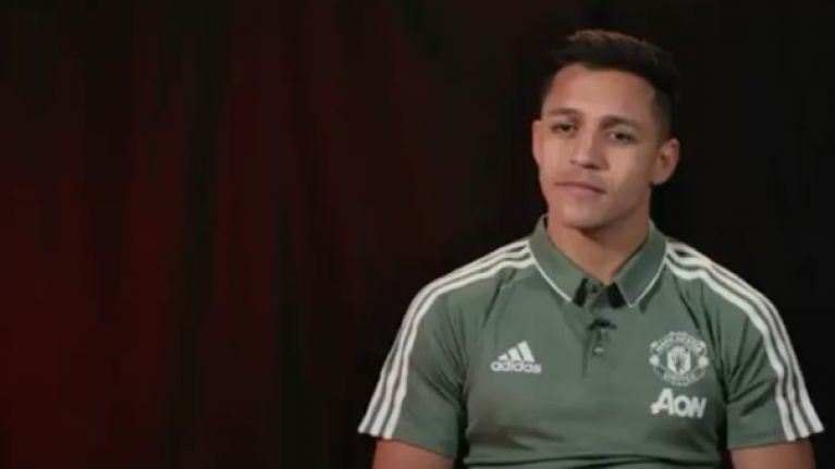 "Alexis Sanchez: ""My dream was to play for Manchester United"""