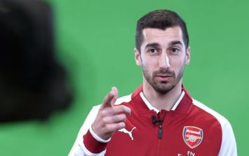 Arsenal supporters convinced they've spotted a message in Henrikh Mkhitaryan video