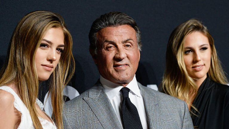 People are grossed out by Sylvester Stallone's