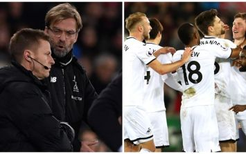 Jurgen Klopp explains angry confrontation with fan after Swansea defeat