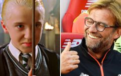 So Harry Potter's Draco Malfoy looks like Jurgen Klopp these days