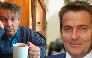 Bradley Walsh posted a picture of his son and he looks exactly like him