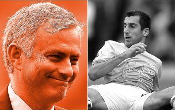 Henrikh Mkhitaryan had a problem with Jose Mourinho