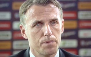 WATCH: Phil Neville looks utterly miserable whilst insisting he has 'best job in football'
