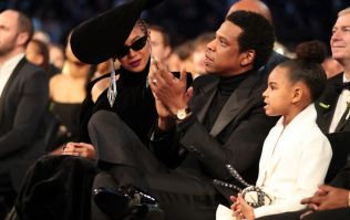 WATCH: Blue Ivy warns Beyonce and Jay-Z to stop clapping during Grammys