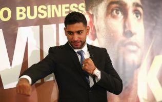 Amir Khan's comeback opponent has been revealed