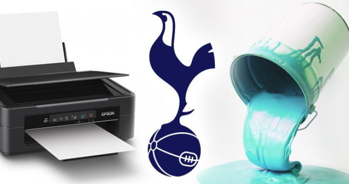 Spurs  new 2018 19 kits look like a printer that s run out of ink and  dripping paint  870a01c44