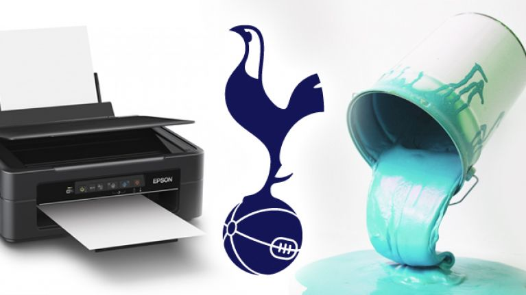 super popular 66e24 790a8 Spurs' new 2018/19 kits look like a printer that's run out ...