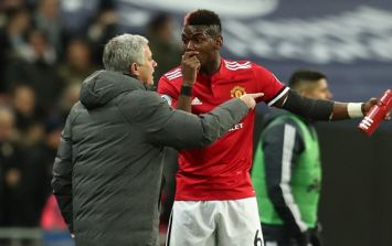 Paul Pogba's performance against Spurs received widespread criticism